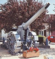 De Bange 155mm gun small